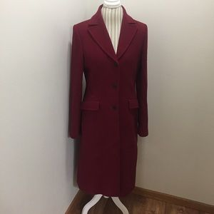 J. Crew Thinsulate Wool Tall Trench Coat
